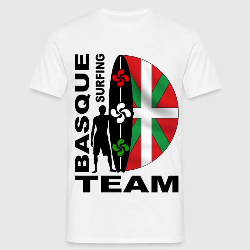 Basque Surfing Team Camisetas - Camiseta hombre