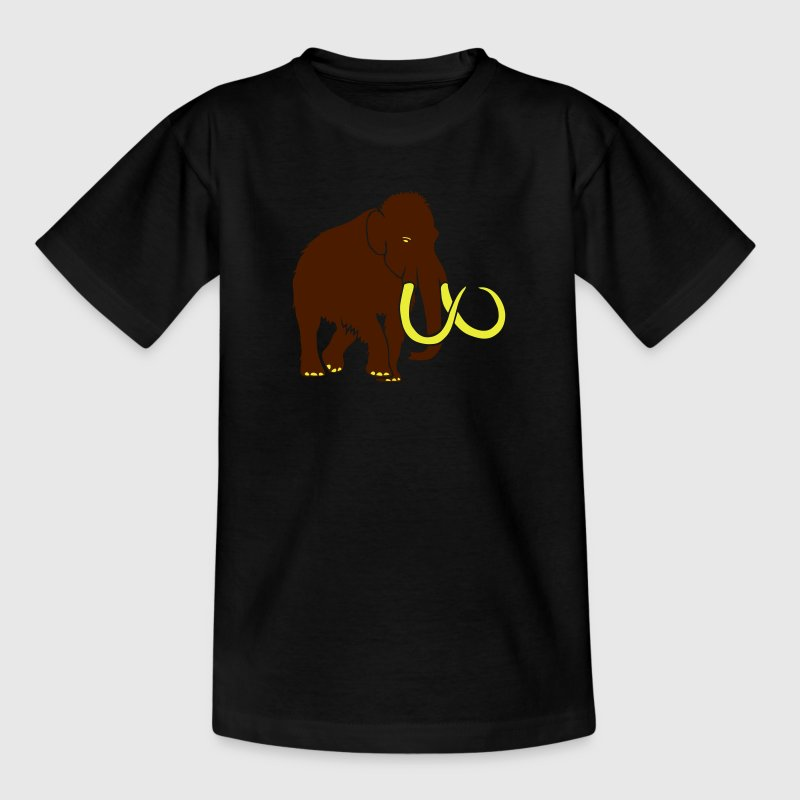 mammoth elephant stone age cave hunter outdoor Shirts - Kids' T-Shirt
