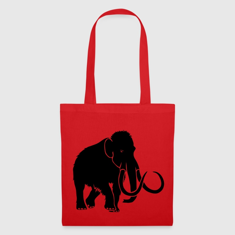 mammoth elephant stone age cave hunter outdoor Bags  - Tote Bag