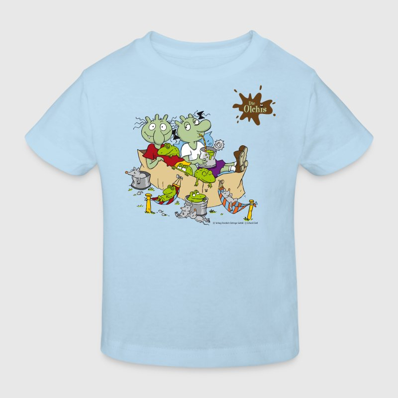 Olchi waste - Kids' Organic T-shirt