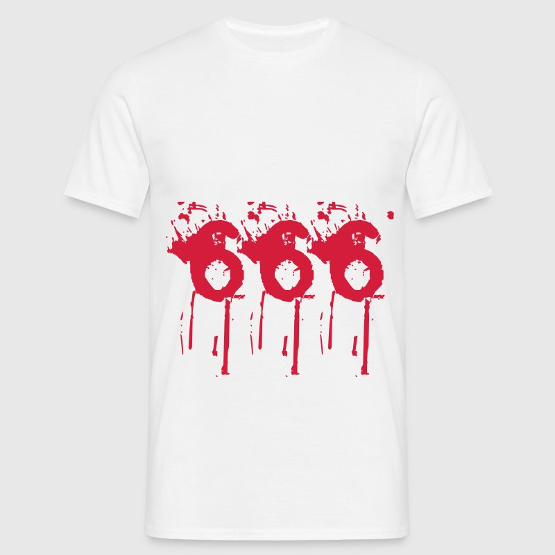 666 - Diable Tee shirts - T-shirt Homme