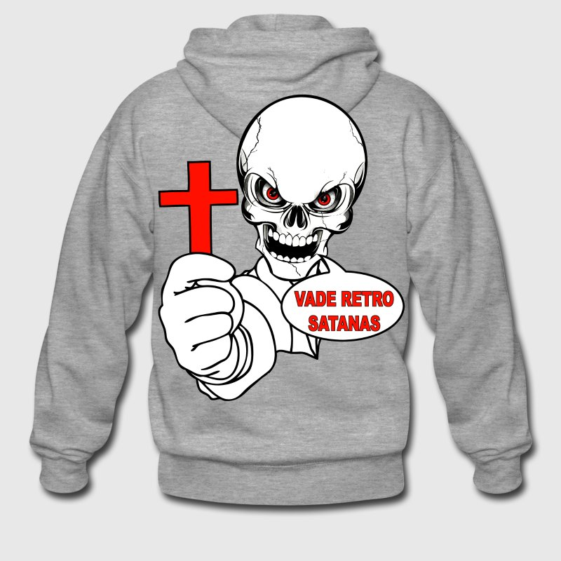 vade retro satanas Hoodies & Sweatshirts - Men's Premium Hooded Jacket