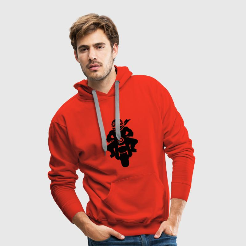 Motard vintage Sweat-shirts - Sweat-shirt à capuche Premium pour hommes
