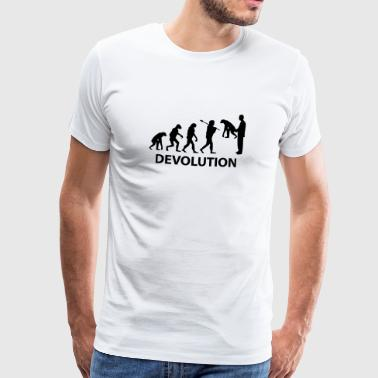 devolution_1c Caps & Hats - Men's Premium T-Shirt