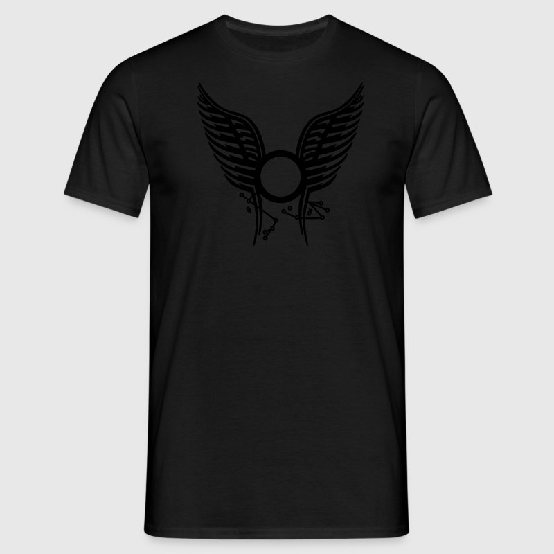 Black Starbuck & Anders' Tattoo Men's Tees - Men's T-Shirt