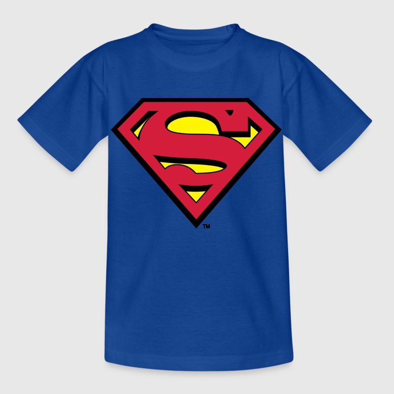 Superman S-Shield T-shirt barn - T-shirt barn