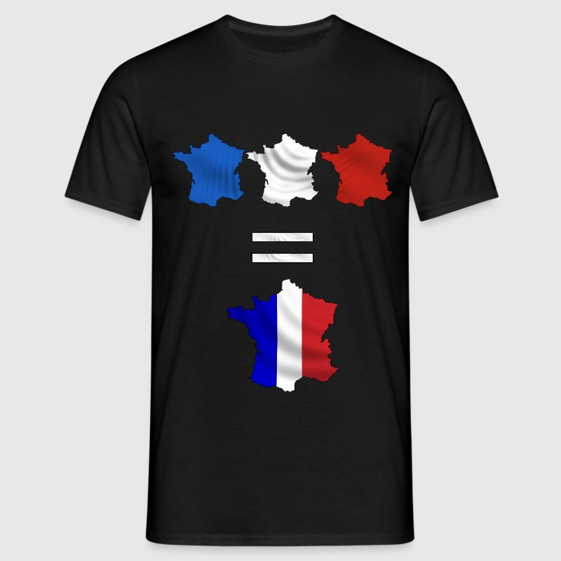 France bleu blanc rouge T-Shirts - Men's T-Shirt