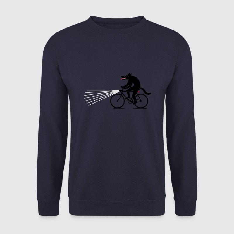 Marine Loup à vélo Sweat-shirts - Sweat-shirt Homme