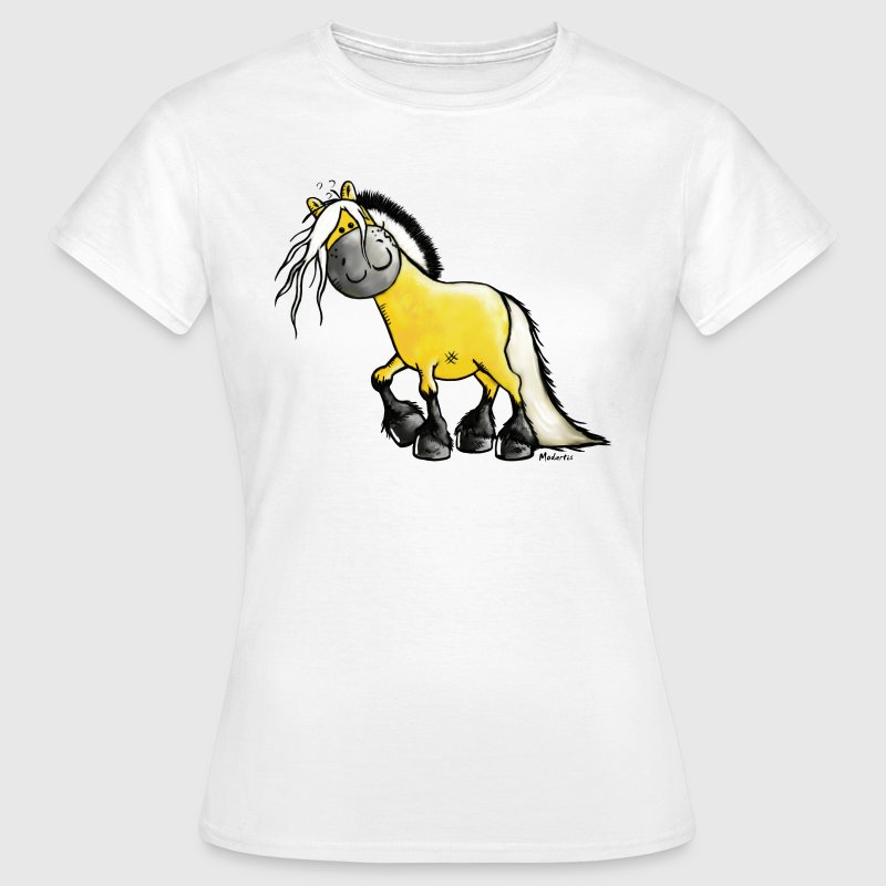 Fjord paard -Fjord paarden - Cartoon T-shirts - Vrouwen T-shirt