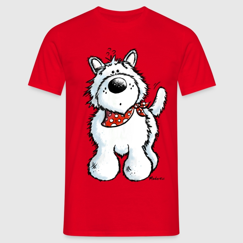 West Highland White Terrier - Westie T-Shirt. - Männer T-Shirt