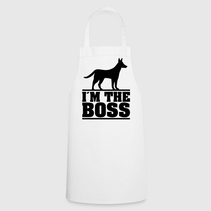 I am the boss! * Logo for dog owners. Dogs  Aprons - Cooking Apron