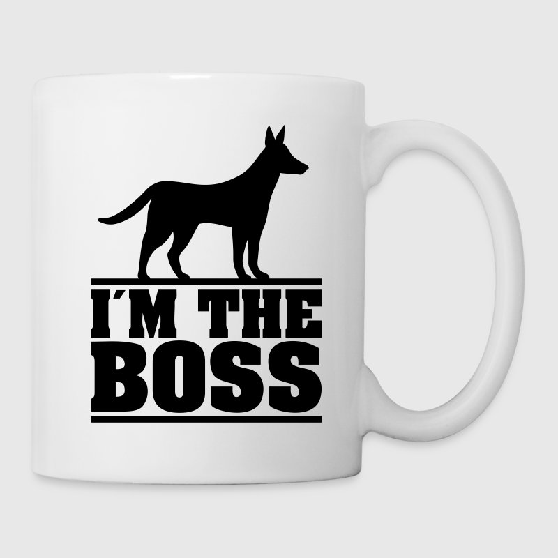I am the boss! * Logo for hundeejere. hunde Flasker og krus - Kop/krus