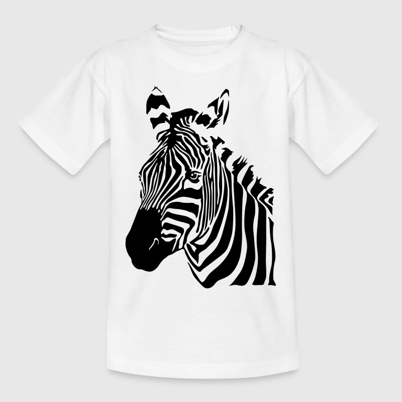 ZEBRA streifen Kinder T-Shirt - Teenager T-Shirt