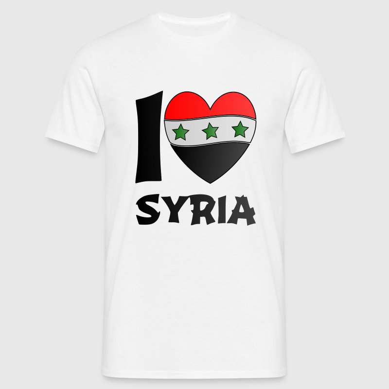 Syria. Tee shirts - T-shirt Homme