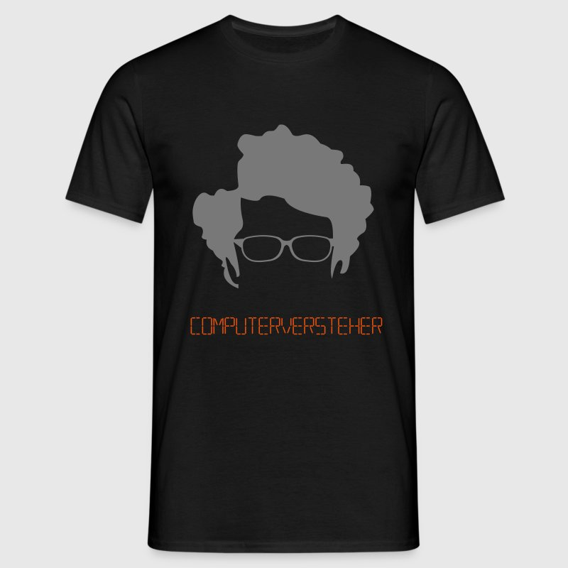 T-Shirt Computerversteher (IT Crowd) schwarz (Fl - Männer T-Shirt