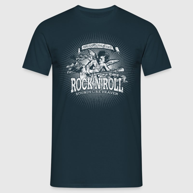 Rock'n'Roll - Sounds Like Heaven (white) - Männer T-Shirt