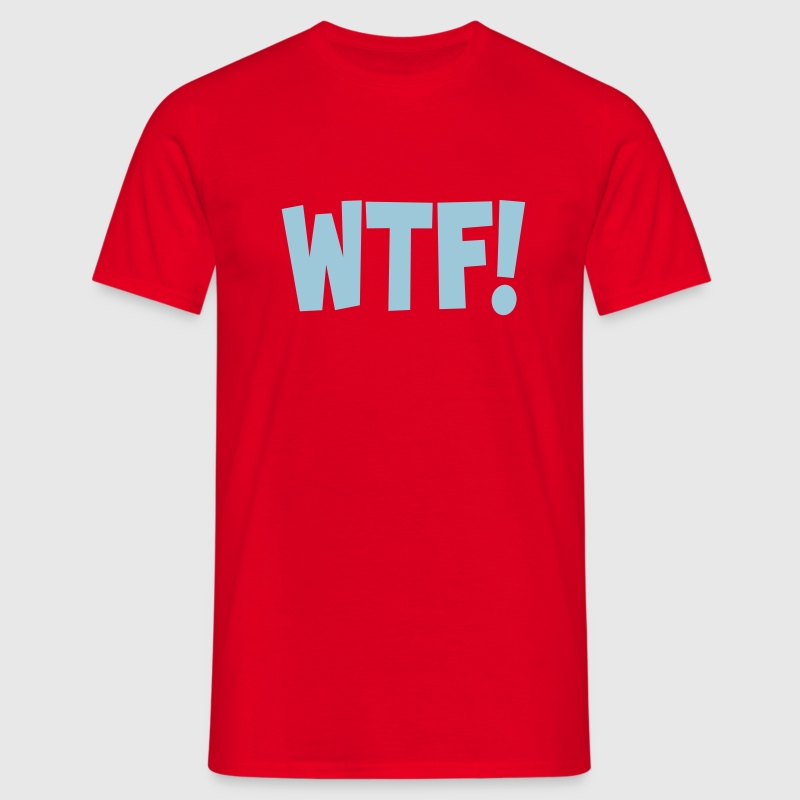 wtf Tee shirts - T-shirt Homme