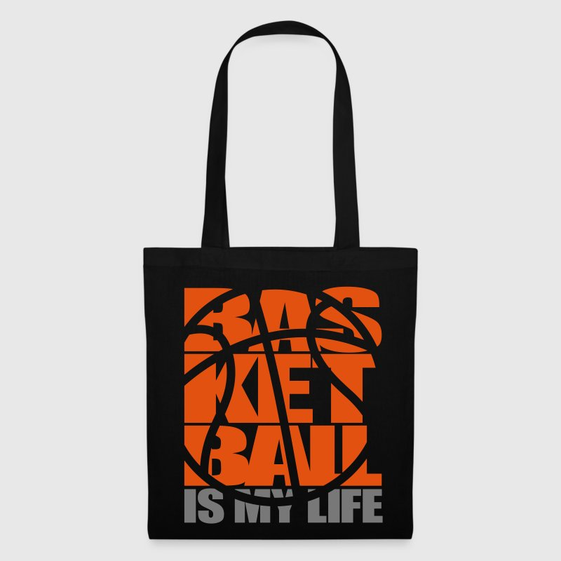 Basketball is my Life.  Baloncesto bolsas - Bolsa de tela