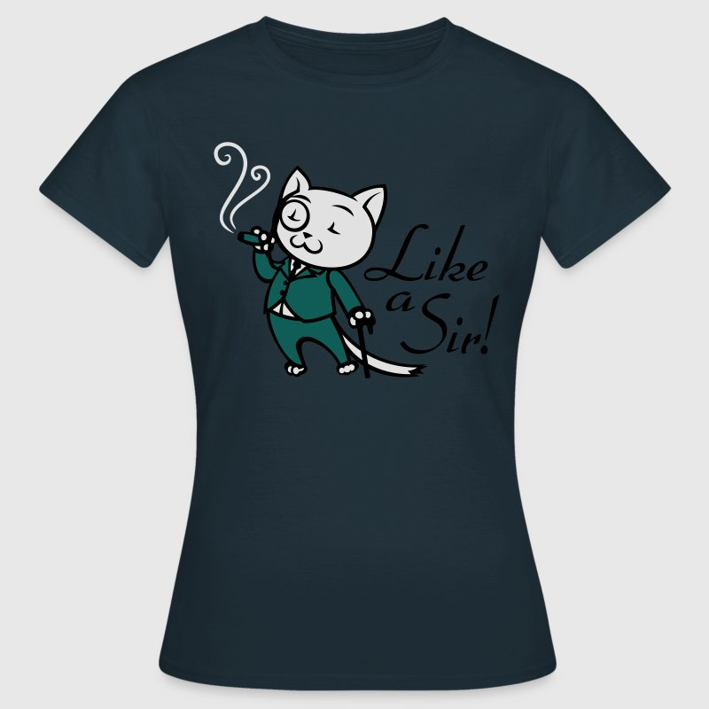 Sir Cat T-Shirts - Women's T-Shirt