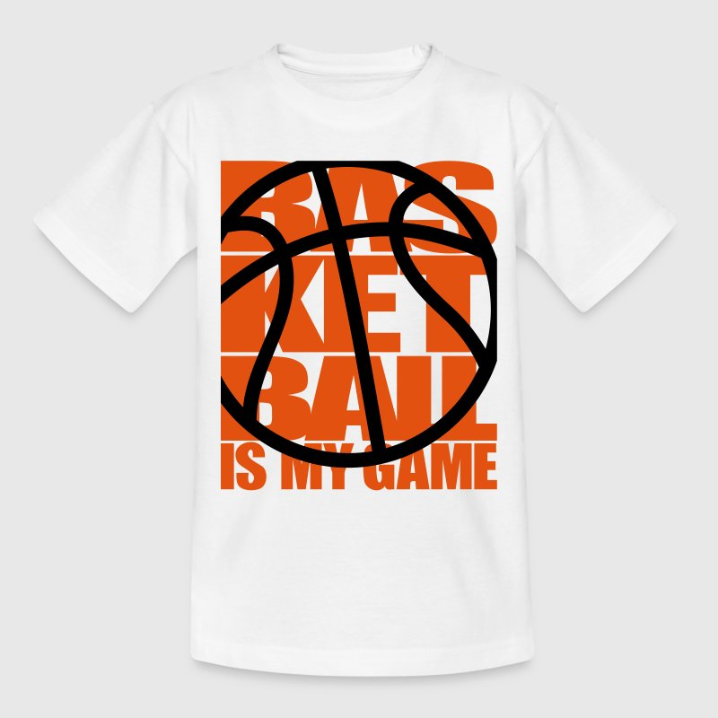 Basketball is my Game - Ball Player Game Dunking Shirts - Kids' T-Shirt