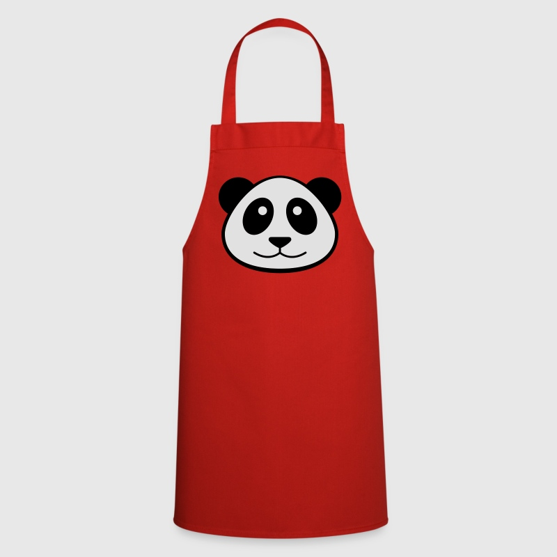 Panda´s Face Cooking Apron - Cooking Apron