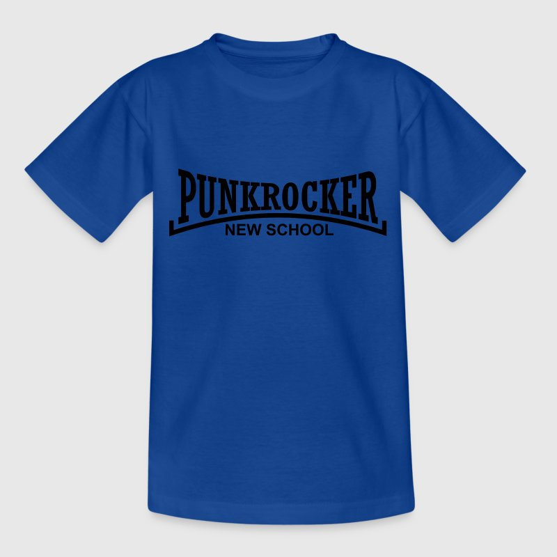 punkrocker new school T-Shirts - Kinder T-Shirt