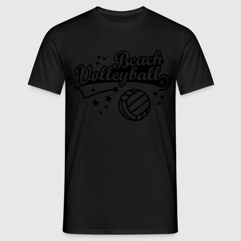 Beach Volleyball Beachvolleyball Bilder Clipart  - Männer T-Shirt