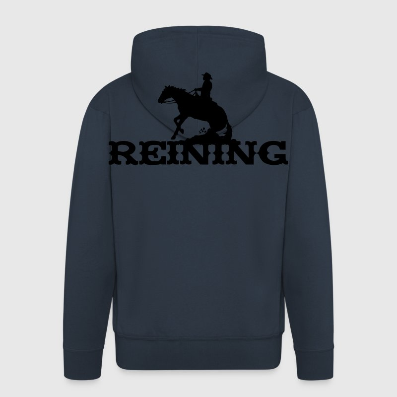 Reining Hoodies & Sweatshirts - Men's Premium Hooded Jacket