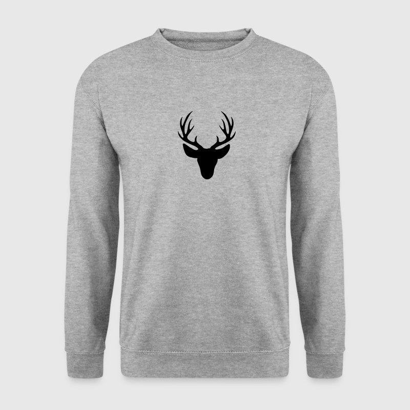 stag - deer antler Hoodies & Sweatshirts - Men's Sweatshirt