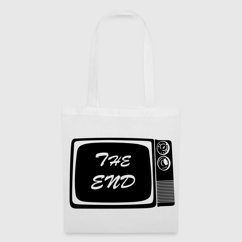 The end vintage tv screen Bags  - Tote Bag