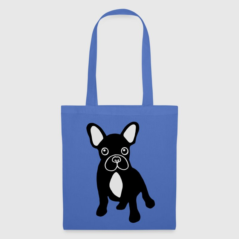Sac bouledogue français bicolore - Tote Bag