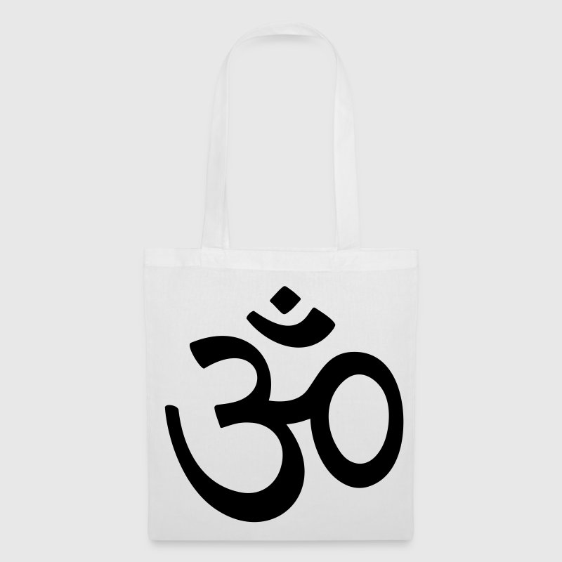 OM Sanskrit characters Buddha Buddhism AUM sign Bags  - Tote Bag