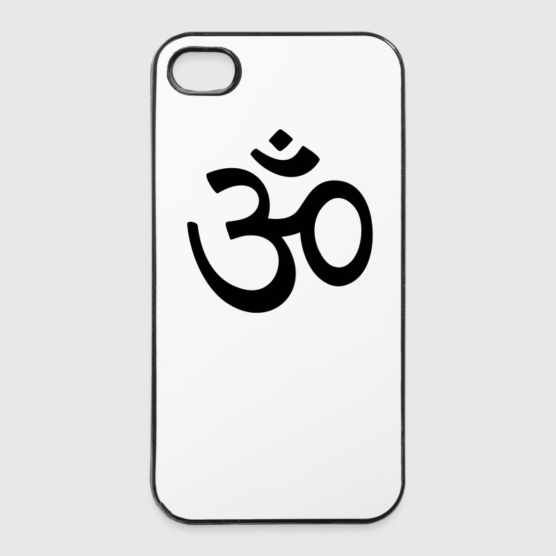 OM Sanskrit characters Buddha Buddhism AUM sign Other - iPhone 4/4s Hard Case