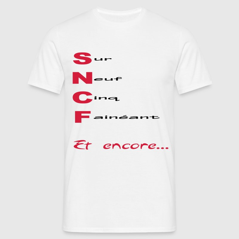 sncf2 Tee shirts - T-shirt Homme