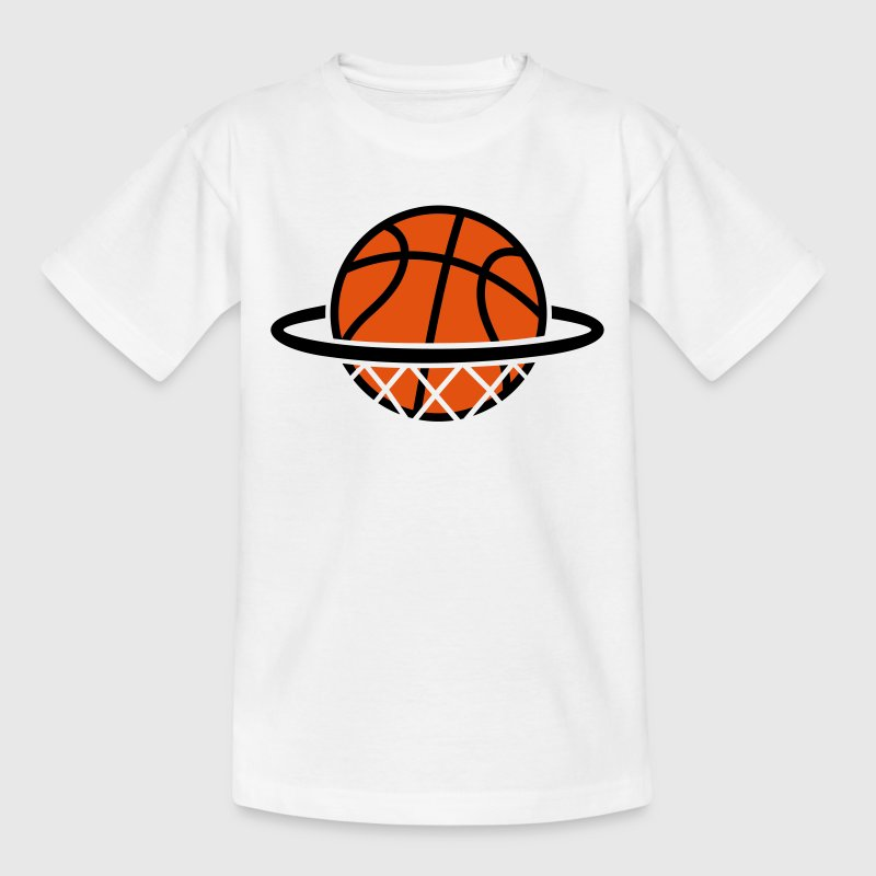 Basket-ball. Basketball panier. Dunk Tee shirts - T-shirt Enfant