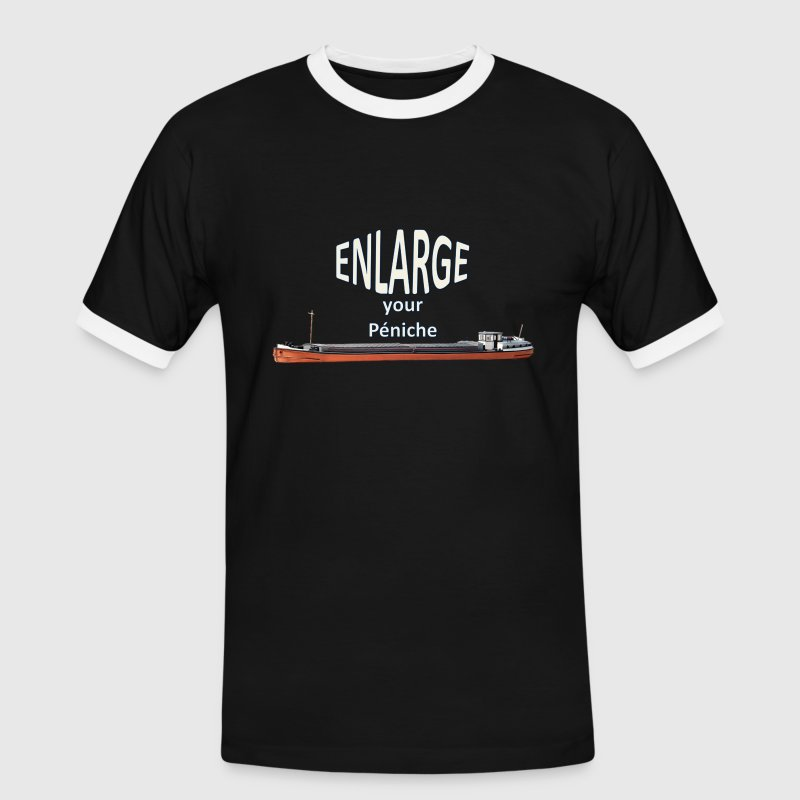 Enlarge your péniche - T-shirt contrasté Homme