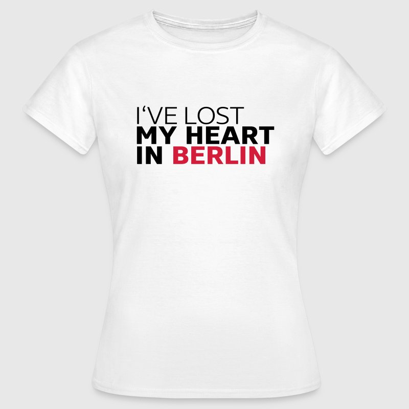 I've lost my heart in berlin T-Shirts - Frauen T-Shirt