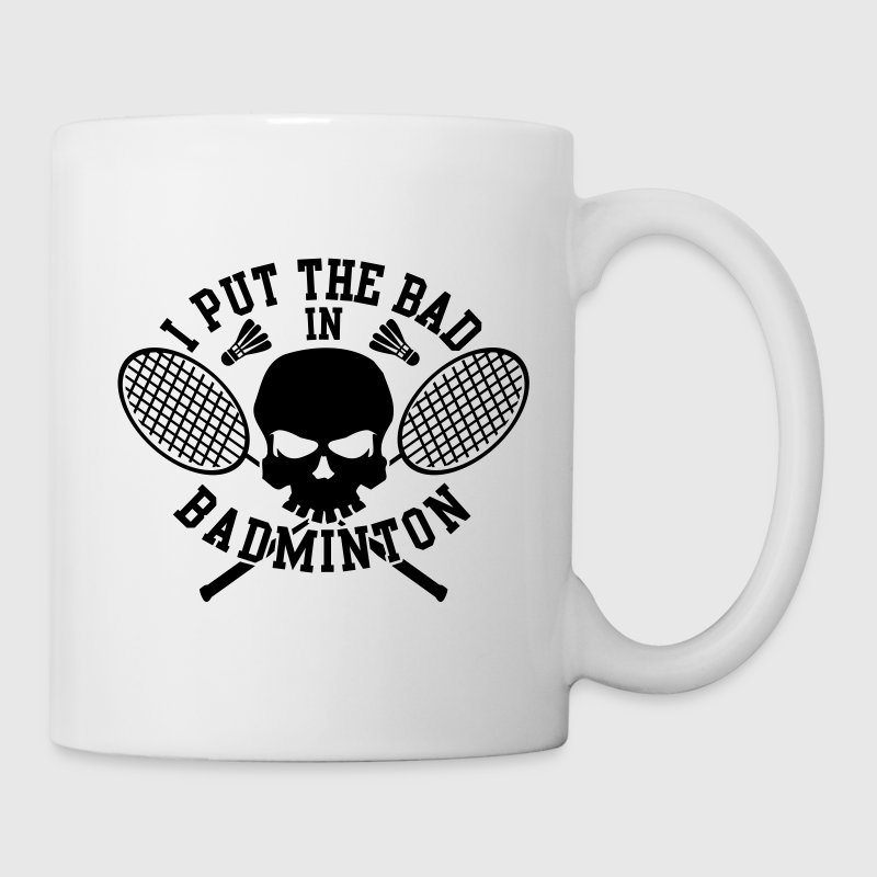 I put the bad in Badminton Bottles & Mugs - Mug