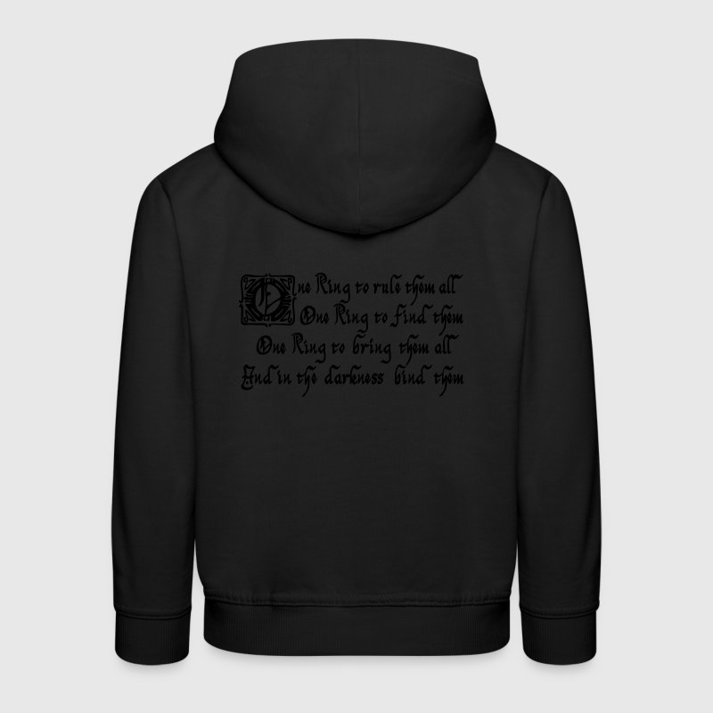 One Ring to rule them all Pullover & Hoodies - Kinder Premium Hoodie