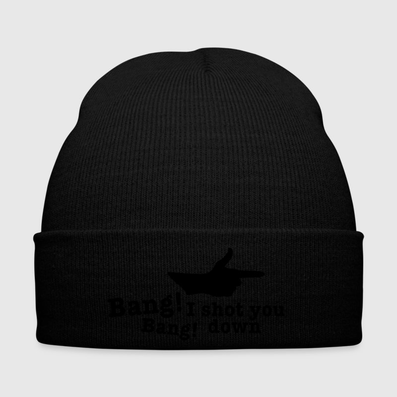 bang bang i shot you down fingergun Caps & Hats - Winter Hat