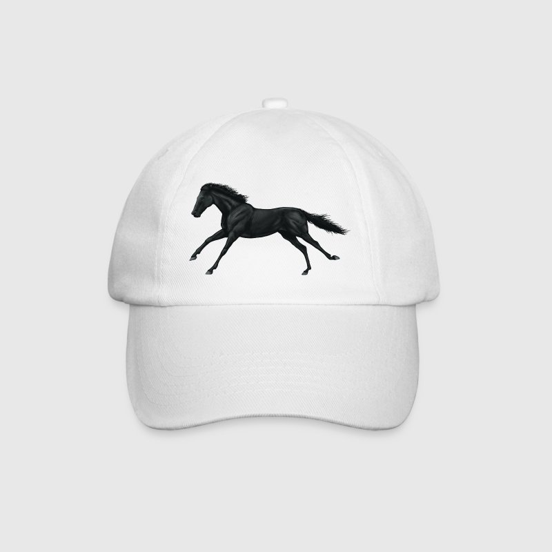 Black Horse Caps & Hats - Baseball Cap