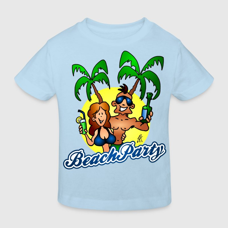 Beach party Shirts - Kinderen Bio-T-shirt