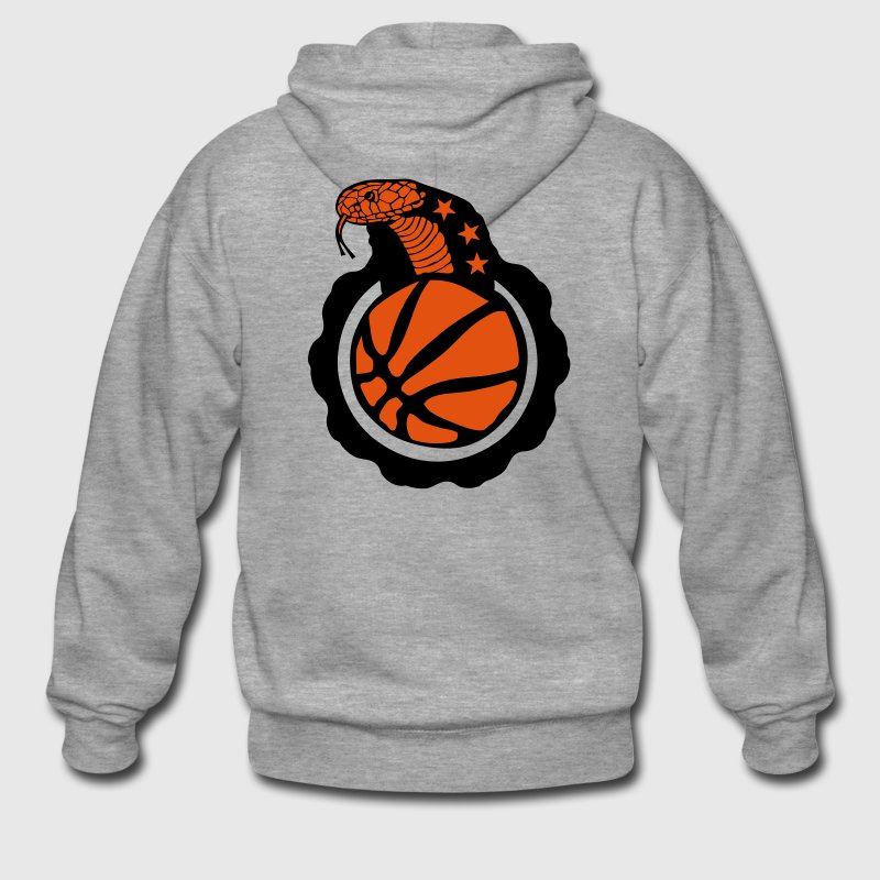 basketball serpent cobra snake logo club Sweat-shirts - Veste à capuche Premium Homme