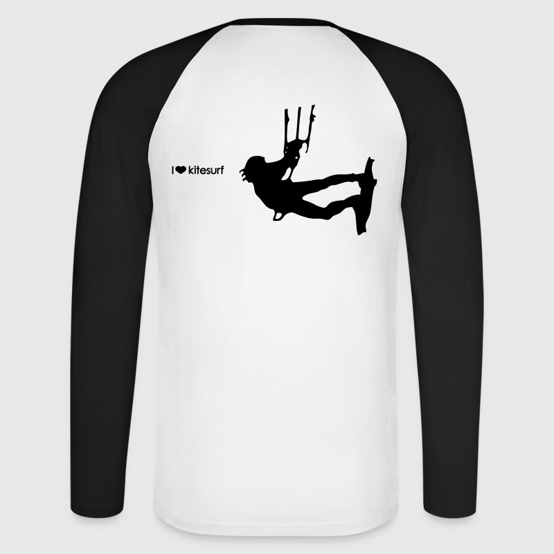 kitesurf Long sleeve shirts - Men's Long Sleeve Baseball T-Shirt