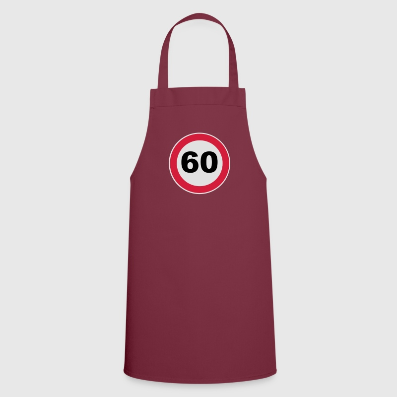 60Th birthday 60 round birthday round 3 c.  Aprons - Cooking Apron