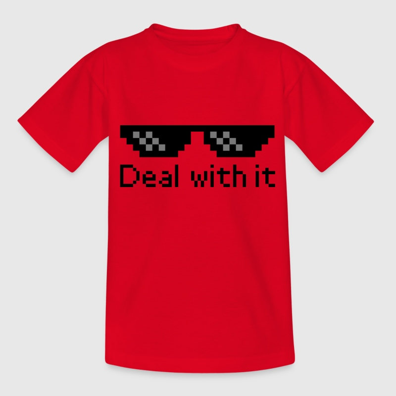Deal With It T-Shirts - Kinder T-Shirt