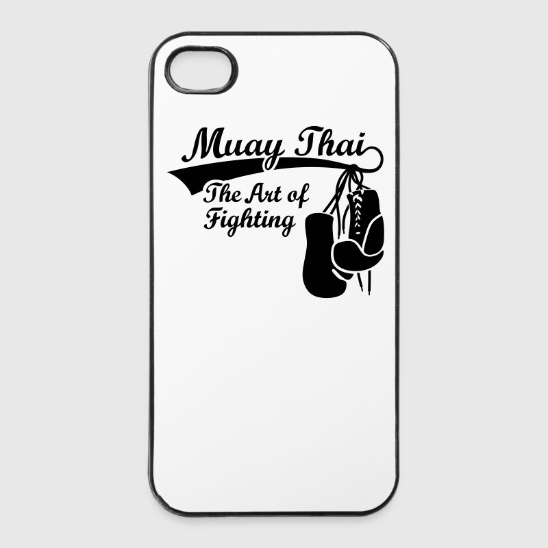 Muay Thai - The Art of Fighting Autres - Coque rigide iPhone 4/4s