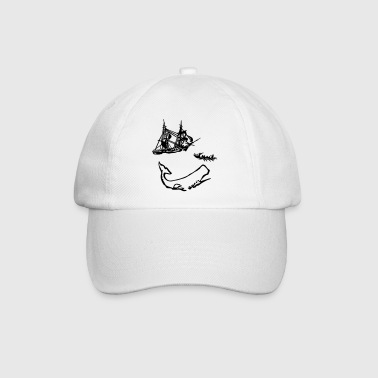 Moby Dick illustration Bags  - Baseball Cap