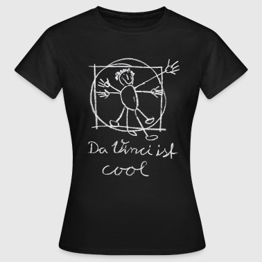 da Vinci ist cool, Vitruv, Kinder-art T-Shirts - Frauen T-Shirt