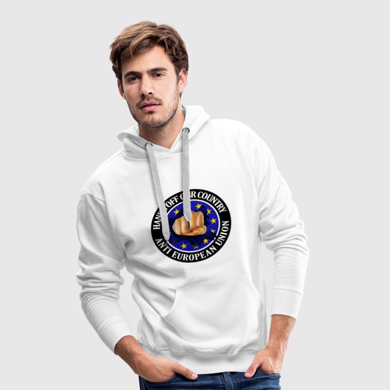 Anti EU - Fist Hoodies & Sweatshirts - Men's Premium Hoodie